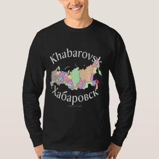 Khabarovsk Russia Map T-Shirt