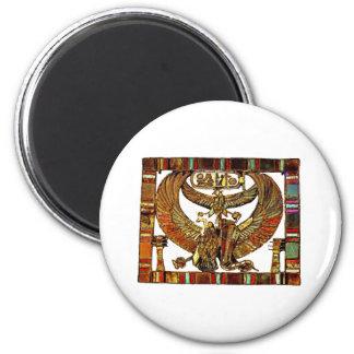 Khaemwaset's Treasure 2 Inch Round Magnet