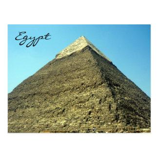 khafre de la pirámide tarjeta postal