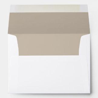 Khaki A7 Felt Envelope