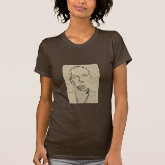 Khaki Asian Rayed-self portrait-by KLM T-Shirt