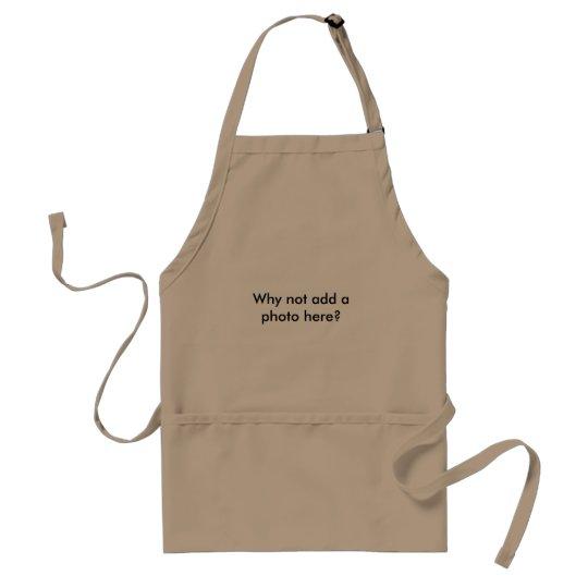 Khaki BBQ apron