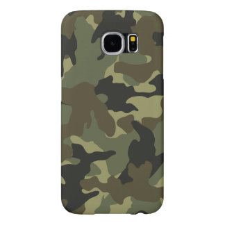 Khaki Camo Military Camouflage Samsung S6 Cases