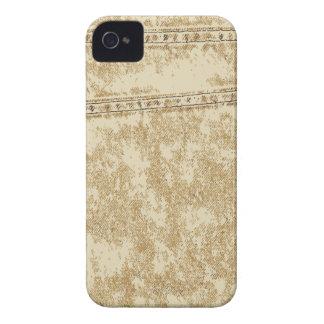 Khaki Denim Pocket iPhone 4 Case