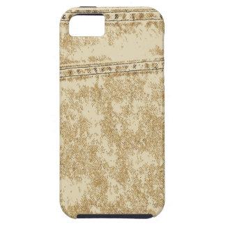 Khaki Denim Pocket iPhone SE/5/5s Case
