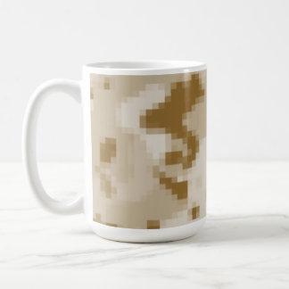 Khaki Digital Camo; Camouflage Coffee Mug