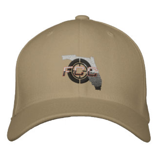 Khaki FCC Embroidered Cap