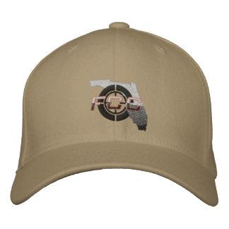 Khaki FCC Embroidered Cap Baseball Cap