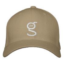 Khaki Flex Fit Cap w White I'm G Logo