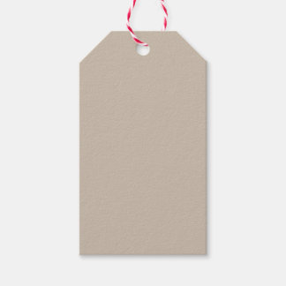 Khaki Pack Of Gift Tags