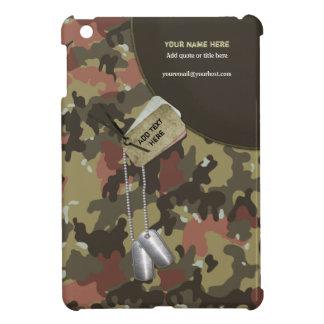 Khaki Green Camo Military - Customize iPad Mini Cover