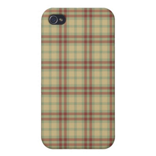 Khaki Green Red Color iPhone 4 Speck Case Covers For iPhone 4