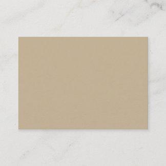 Khaki Mighty Business Card