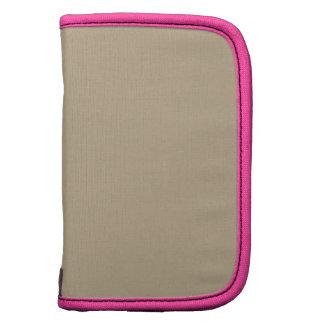 Khaki Pink Best Color Matched Folio Planner