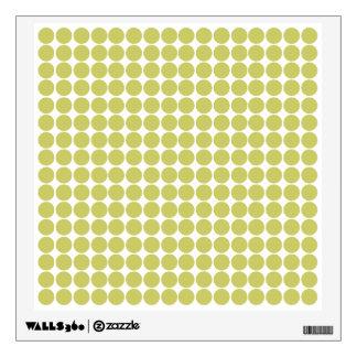Khaki Safari Dot Wall Decals