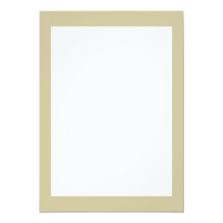 Khaki Solid Color Card