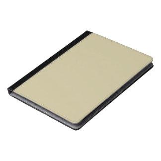 Khaki Solid Color iPad Case
