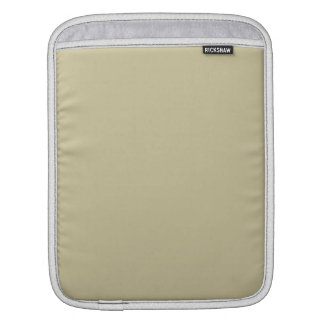 Khaki Solid Color Sleeves For iPads