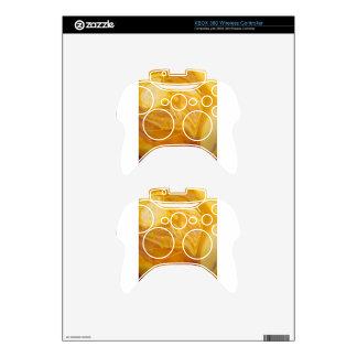 Khaki Swirl Xbox 360 Controller Skin