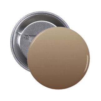 Khaki to Coffee Horizontal Gradient Pinback Button