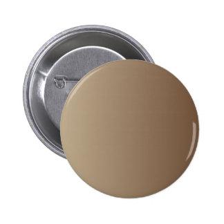 Khaki to Coffee Vertical Gradient Pinback Button