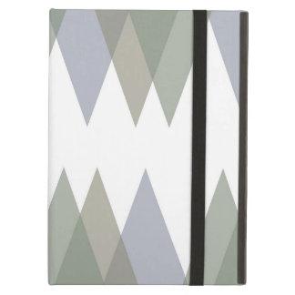 Khaki triangles case for iPad air