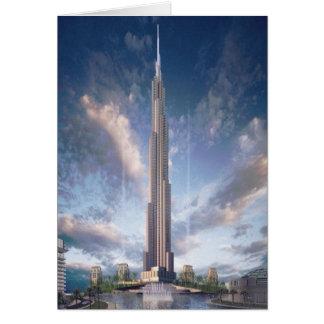Khalifa tower card