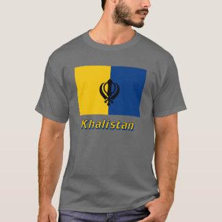 Khalistan Flag with Name T-Shirt