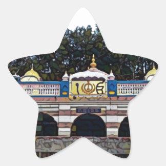 Khalsa Star Sticker