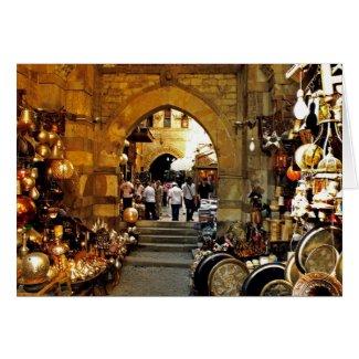 Khan al-khalili market card