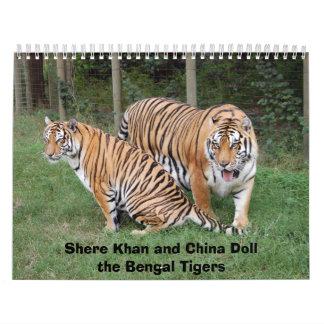 khan-n-china010, Shere Khan and China Dollthe B... Calendar