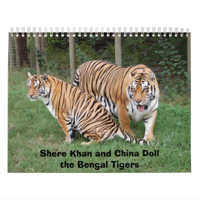 khan-n-china010, Shere Khan y China Dollthe B… Calendario De Pared