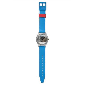 Khan The Pug Watch ( Blue )