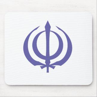 Khanda-Purple Mouse Pad