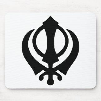 Khanda Sikh Symbol Mouse Pad