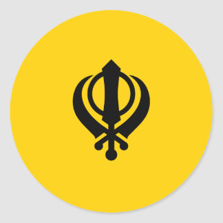 Khanda Sikhism Stickers