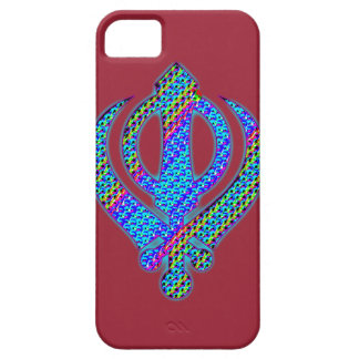 khanda torquoise iPhone SE/5/5s case