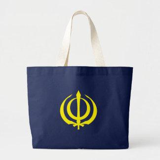 Khanda-Y Large Tote Bag