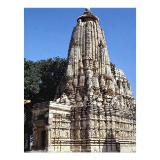 Khandariya Temple, Khajuraho, Madhya Pradesh, Indi Flyer Design