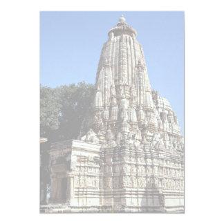 Khandariya Temple, Khajuraho, Madhya Pradesh, Indi Custom Invitations