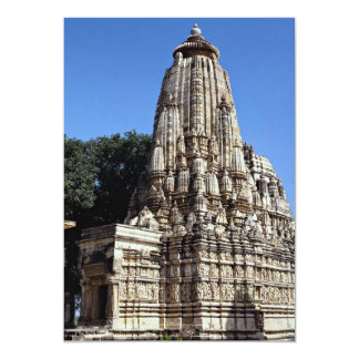 Khandariya Temple, Khajuraho, Madhya Pradesh, Indi Personalized Invites
