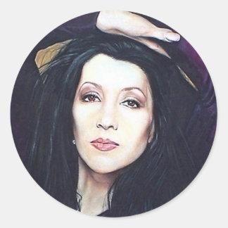 Khani Cole Classic Round Sticker