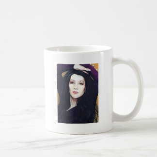 Khani Cole Classic White Coffee Mug