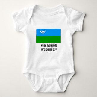 Khantia-Mansi Autonomous Okrug Flag Tee Shirts