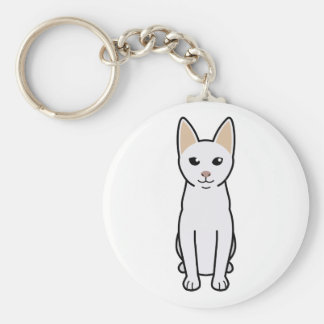 Khao Manee Cat Cartoon Key Chains