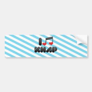 Khap fan bumper sticker
