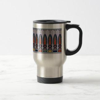 Kheker Frieze, Lapis 15 Oz Stainless Steel Travel Mug