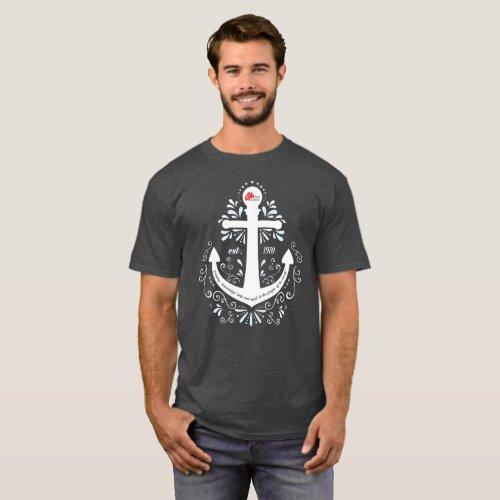 KHH Anchor Dark Grey Tshirt