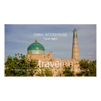 Khiva • Plantilla de la tarjeta de visita