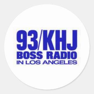 KHJ - 93-KHJ STICKERS